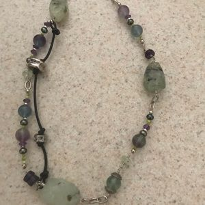 Morgan Dane Jewelry - Morgan Dane sterling silver necklace. Multi stones